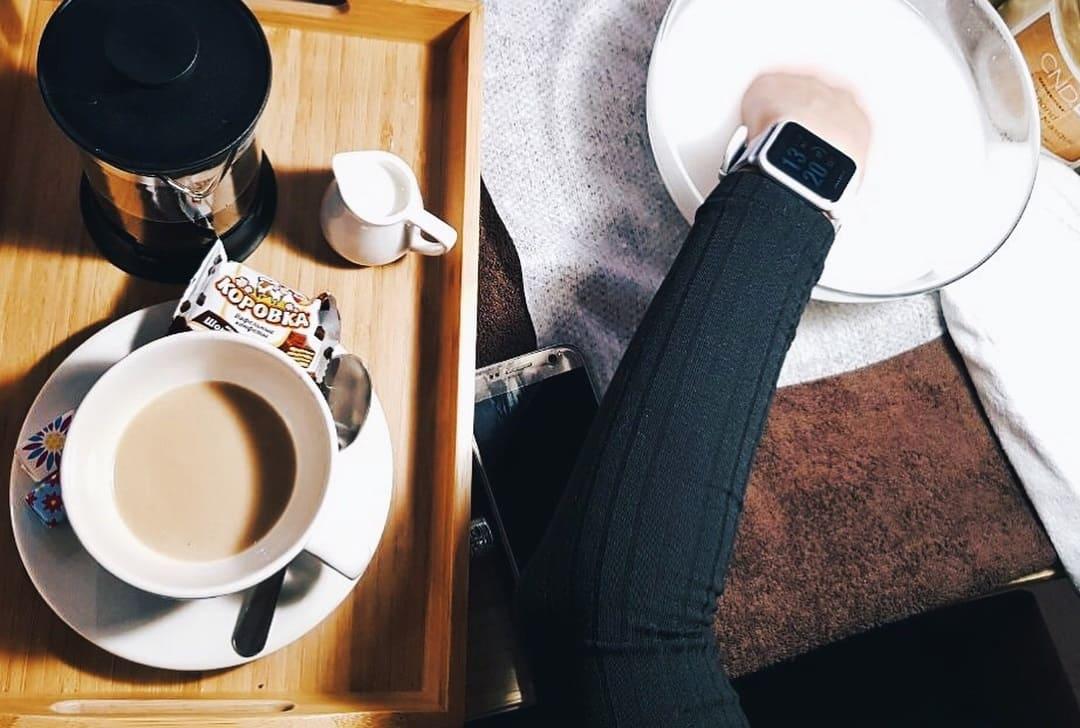 угощаем кофе и чаем