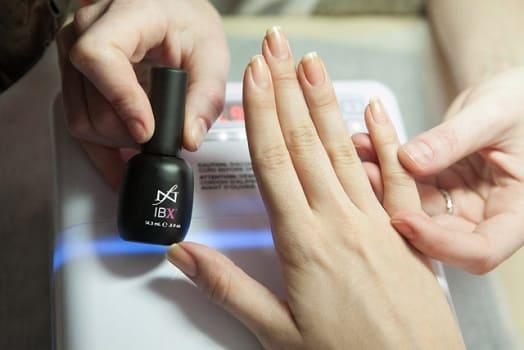 IBX восстановление ногтей