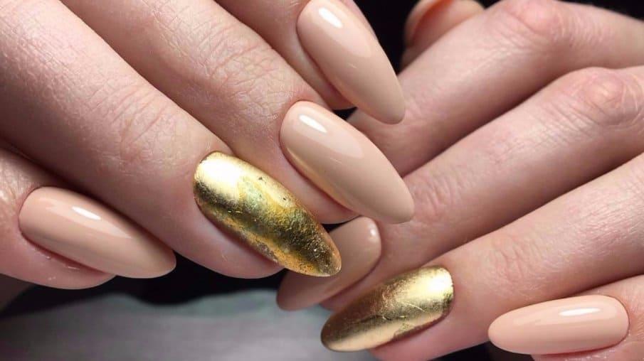 маникюр на длинных ногтях
